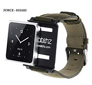 IWatchz Force Collection Canvas Watch Band Wrist Strap Case For iPod Nano 6