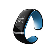 wearables L12S pulseira pulseira inteligente, oled / rastreador atividade para android / ios / windows