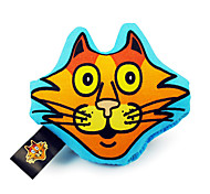 Cat Head Shaped Plush Toys For Pet Cats(Assorted Colour)