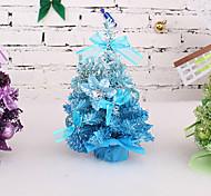 40 centímetros cor gradiente de mesa da árvore de natal decoração