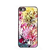 Watercolor-Blumen-Design Aluminium-Hülle für das iPhone 4 / 4s