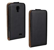 Flip-Open Genuine Leather Full Body Case for LG F70