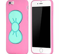 Bowknot Cases with Stand TPU Case for iPhone 6(Assorted Colors)