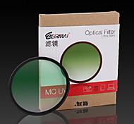 72mm erimai filtro uv mc para Canon Nikon 18-200 15-85