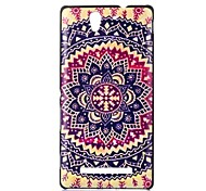 Flower Pattern PC Hard Back Case for Sony Xperia C3