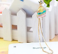 Drops Chain Elephants   3.5mm Anti-dust Plug for iphone and Others