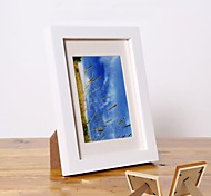 Personalized Framed Photo 5 inches Colourful Wooden Frame with Stand 1 Photo