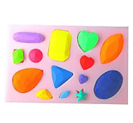 Diamonds Shaped Baking Fondant Cake Choclate Candy Mold,L10.1cm*W7cm*H1cm