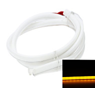 2 x Led strip 80CM 79LED 3014SMD 5.5W orange 560-595nm DC12V waterproof IP65 decorative lights Daytime running lights