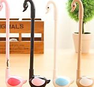 Cartoon Animal Swan Modelling Gel Pens (Random Colors)