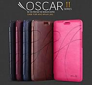 promotion trois yu série téléphone étuis en cuir pour vivo XPlay (couleurs assorties)