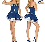 Sexy Cool Sailor Girl Navy Uniform One Size
