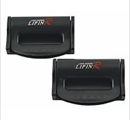 clips de ceinture de sécurité de voiture en plastique universelle lp-2567 (2 pcs)