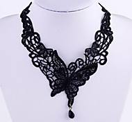 Lace Court Butterfly Vintage Jewels Necklace