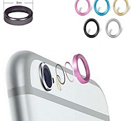 Metal Phone Lens Protector for iPhone  6 Plus (Assorted Colors)