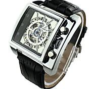 Men's Watch Mechanical Semi-Automatic Self-Winding Hollow Engraving