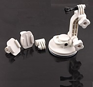 4-in-1 Suction Cup Car Mount Holder for GoPro Hero 4 / 3+ / 3 / 2 / SJ4000