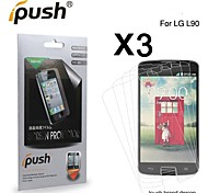 High Transparency HD LCD Screen Protector for LG L90 (3 Pieces)