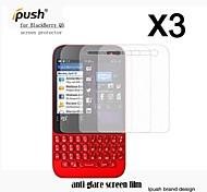 Protector de pantalla mate de alta transparencia para q5 blackberry (3 piezas)