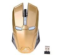 jeqang JW-2046 1200dpi 2.4ghz wireless mouse da gioco ottico (oro)