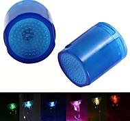 8001-a8 corriente de agua con estilo colorido luminoso luz del grifo de luz LED (de plástico)