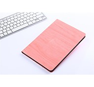 New Wood Grain PU Cover Intelligent Sleep Tablet Case for iPad Air (Assorted Color)