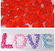 100pcs Heart Shaped Flower Petals for Wedding Baby Bridal Shower Party Table Confetti Decorations