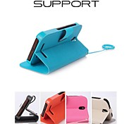 Promotion Seven Wei Series Phone Leather Cases for HTC T528D(Assorted Colors)