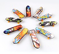 10Pieces/Lot Toys for Children Finger Skateboard(Single Face Printed)
