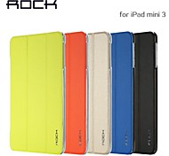 ROCK Ultra-Thin Transparent Dormancy Stent Smart Case for iPad mini 1/2/3(Assorted Color)
