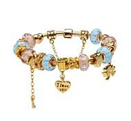 Gold Pendant Charm Bracelet for Valentine and Christmas Gift