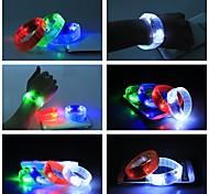 Night Club High-Output LED Acoustic Control Wrist Light