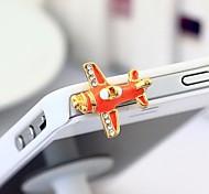 Новый капли самолет 3,5 Anti-Dust Разъем для Iphone (ассорти цветов)