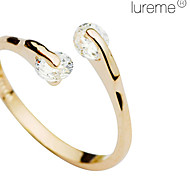 Lureme®Fashion Semi-open Style Ring with Shinning Rhinestones for Lady Girl