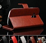 Retro Crazy Horse PU Leather Full Body Case with Stand and Card Slot for Samsung Galaxy S3 Mini i8190