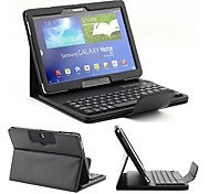 Bluetooth Keyboard with Detachable Leather Case for Samsung Galaxy Tab Pro 10.1 T520(Assorted Colors)