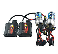 12V 35W H7 6000K White Light Kit Xenon HID