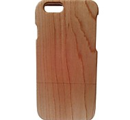 Kyuet Wooden Case Artist Made White Maple Cover Skin Cell Phone Case for iPhone 6