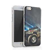 Anzo nuova tecnologia vendita calda 3d colorato caso della copertura del telefono delle cellule di scultura per iPhone 6