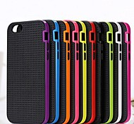 Toophone® JOYLAND Bicolors Two in One Silicone Back Cover Case for iPhone 6 Plus (Assorted Color)