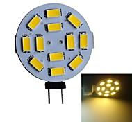 G4 3W 12 SMD 5630 250-270LM LM Warm wit LED-spotlampen DC 12 V