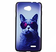Cat Pattern PC Hard Case for LG L70