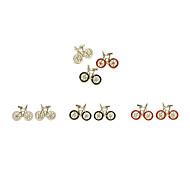 Cute Lifelike Bike Earrings