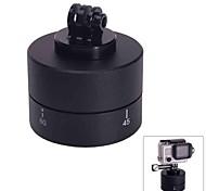 fat cat-m tl 360 ° tempo rotação automática cabeça berço para GoPro hero3 + / 3/2/1 - black