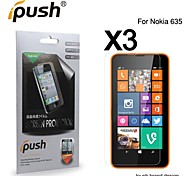 High Transparency HD LCD Screen Protector for Nokia 635 (3 Pieces)