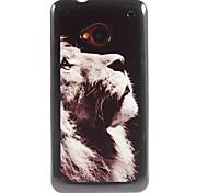 Lion Pattern Aluminium Hard Case for HTC M7