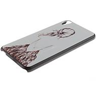 bello caso duro ragazza indietro modello pc e supporto del telefono per HTC Desire 820