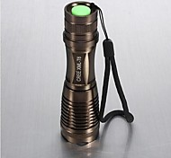 LED Flashlights / Handheld Flashlights LED 5 Mode 1800 LumensAdjustable Focus / Waterproof / Rechargeable / Impact Resistant / Nonslip