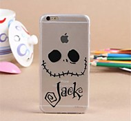 Personality Pattern TPU Soft Cover for iPhone 6/6S