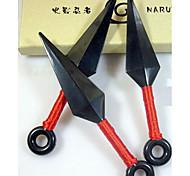 Arme Inspiré par Naruto Cosplay Anime Accessoires de Cosplay Arme Noir Plastique d'ingénierie Masculin / Féminin